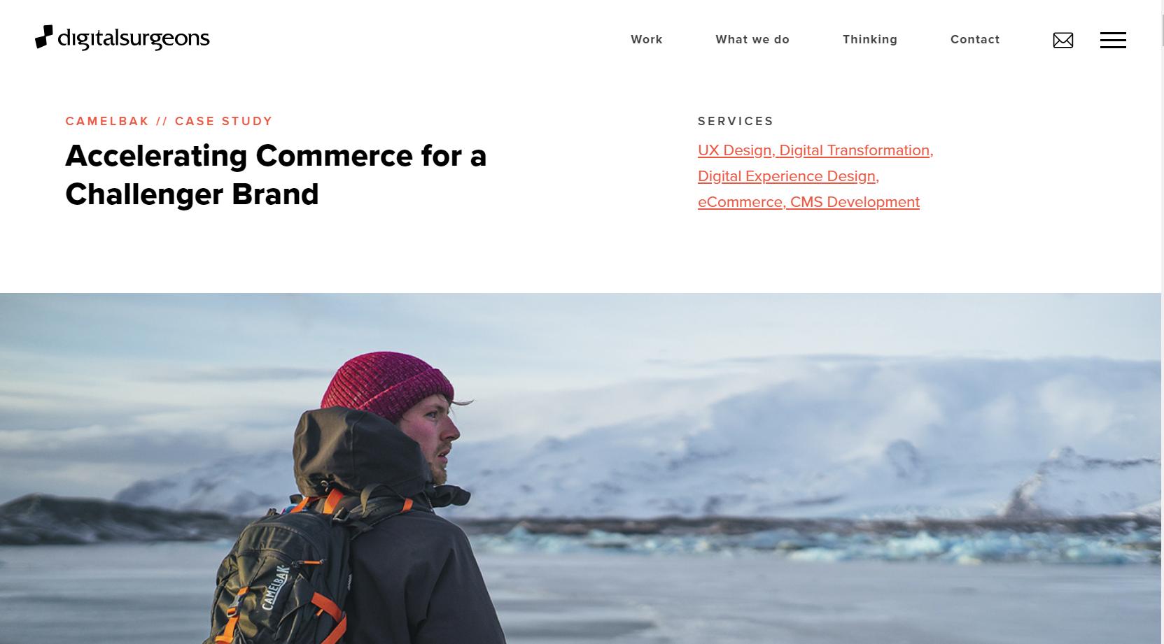 agency case study challenger brand camelbak