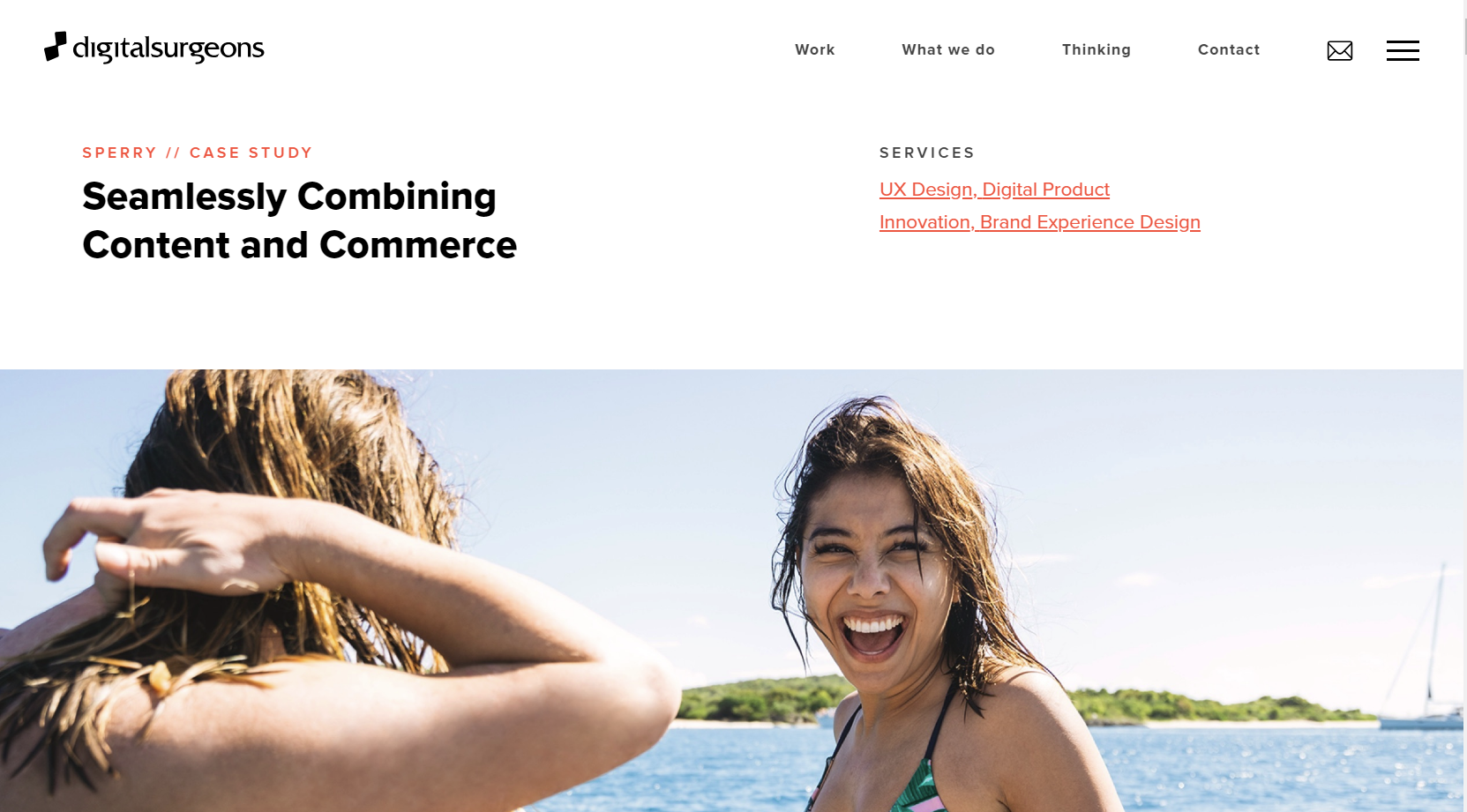agency case study content and commerce sperry