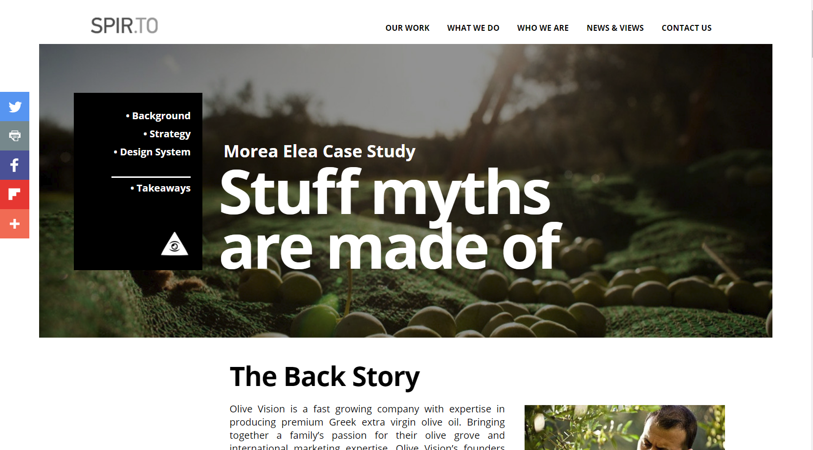 agency spirto case study morea elea