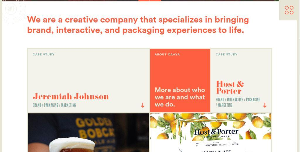 caava case study homepage