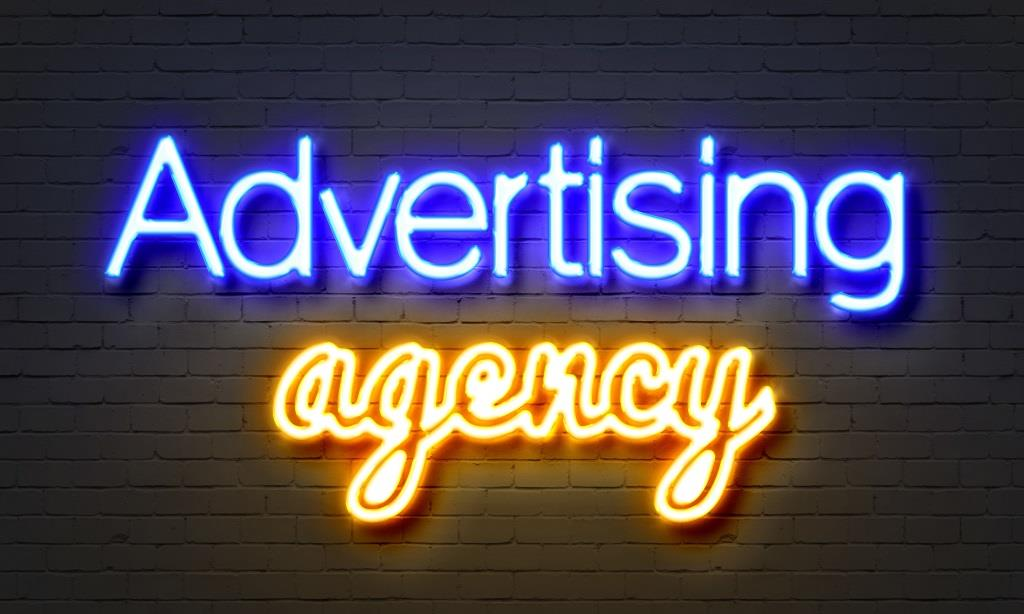 the ad agency label is dated