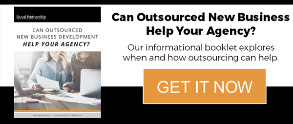 Can Outsourced New Business Help Your Agency booklet